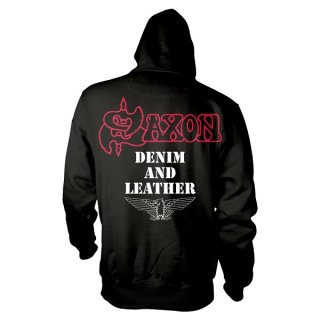 SAXON Denim And Leather, パーカー