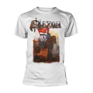 SAXON Crusader Wht, Tシャツ