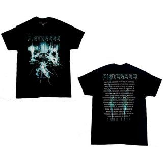 DISTURBED Apocalypse Dateback, Tシャツ