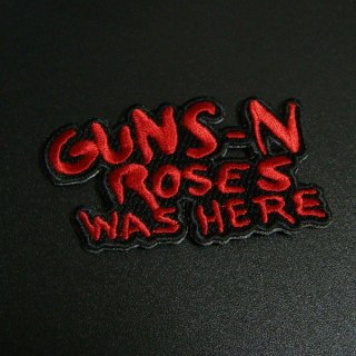 GUNS N' ROSES Red Logo, パッチ