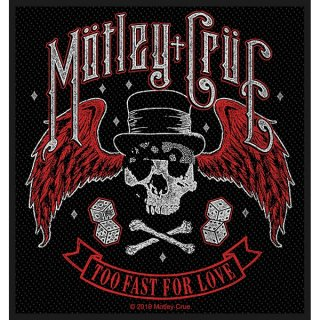MOTLEY CRUE Too Fast For Love, パッチ
