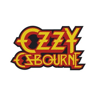 OZZY OSBOURNE Logo Cut-Out, パッチ