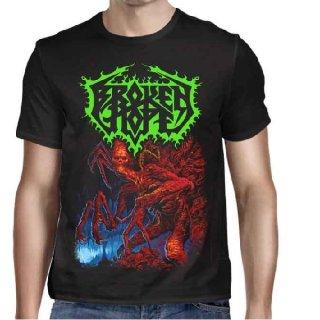 BROKEN HOPE Mutilated Album Title, Tシャツ