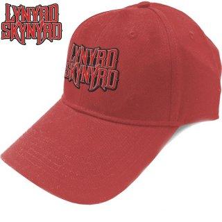 LYNYRD SKYNYRD Logo Red, キャップ