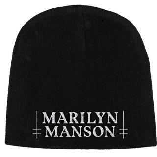 MARILYN MANSON Logo, ニットキャップ