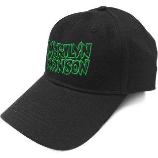 MARILYN MANSON Logo, キャップ