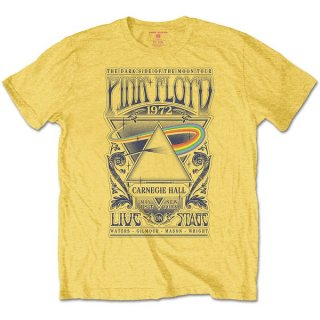 PINK FLOYD Carnegie Hall Poster, Tシャツ