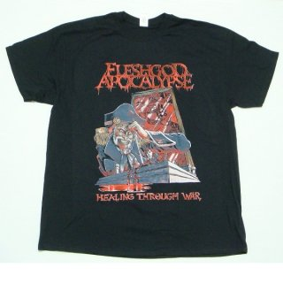 FLESHGOD APOCALYPSE Healing Through War Black, Tシャツ
