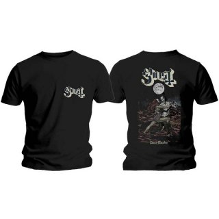 GHOST Dance Macabre Cover & Logo, Tシャツ