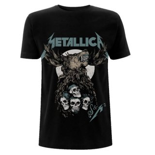 METALLICA S&M2 Skulls, Tシャツ