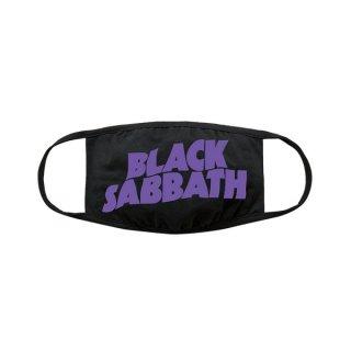 BLACK SABBATH Wavy Logo, 布マスク