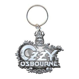 OZZY OSBOURNE Crest Logo, キーホルダー
