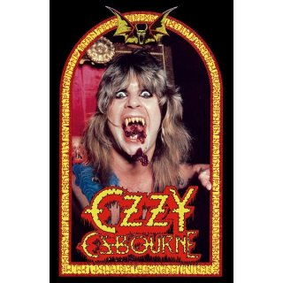 OZZY OSBOURNE Speak Of The Devil, 布製ポスター