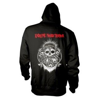EXTREME NOISE TERROR Logo, パーカー