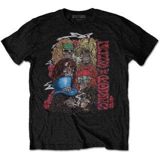 GUNS N' ROSES Stacked Skulls, Tシャツ