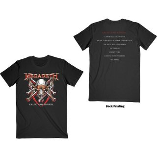 MEGADETH Killing Is My Business, Tシャツ