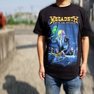 MEGADETH Rust In Peace 30th Anniversary, Tシャツ