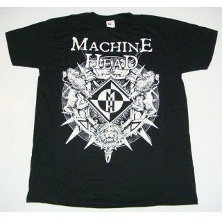 MACHINE HEAD Lion Shield, Tシャツ
