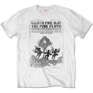 PINK FLOYD Games For May B&w, Tシャツ