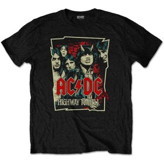 AC/DC Highway To Hell Sketch, Tシャツ