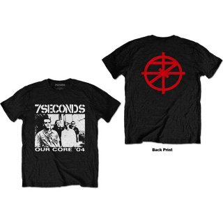 7 SECONDS Our Core, Tシャツ