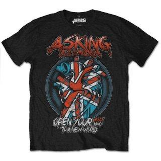 ASKING ALEXANDRIA Heart Attack 2, Tシャツ