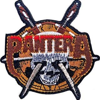 PANTERA Skull Knives, パッチ
