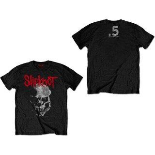 SLIPKNOT Gray Chapter Skull 2, Tシャツ
