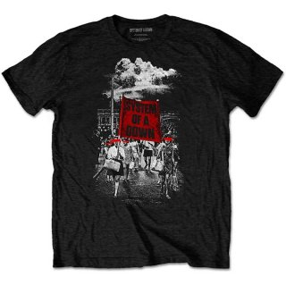 SYSTEM OF A DOWN Banner Marchs, Tシャツ