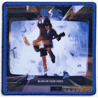 AC/DC Blow Up Your Video Album Cover, パッチ