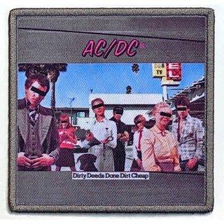 AC/DC Dirty Deeds Done Dirt Cheap Album Cover, パッチ