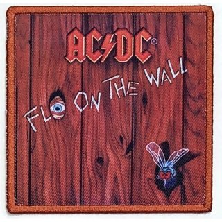 AC/DC Fly On The Wall Album Cover, パッチ