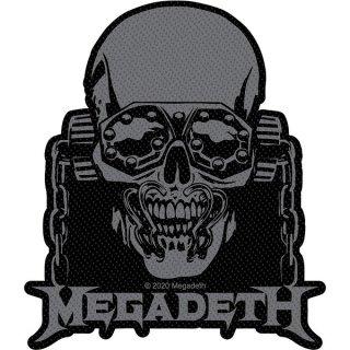 MEGADETH Vic Rattlehead Cut Out, パッチ