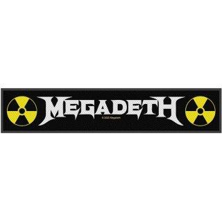 MEGADETH Logo, ストライプパッチ