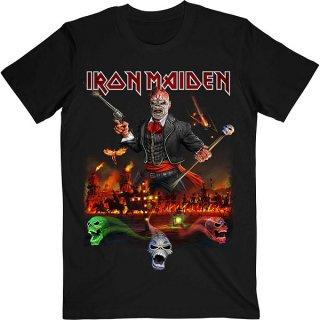 IRON MAIDEN Legacy Of The Beast Live Album, Tシャツ