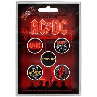 AC/DC Pwr-Up, バッジセット