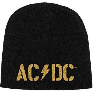 AC/DC Pwr-Up Band Logo, ニットキャップ