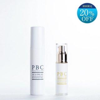 【初回限定】PBCプレミアムエッセンス+オールインワンジェル