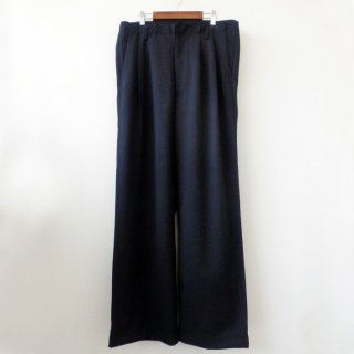 <img class='new_mark_img1' src='//img.shop-pro.jp/img/new/icons29.gif' style='border:none;display:inline;margin:0px;padding:0px;width:auto;' />【bukht】2-TUCK BAGGY TROUSERS BLACK