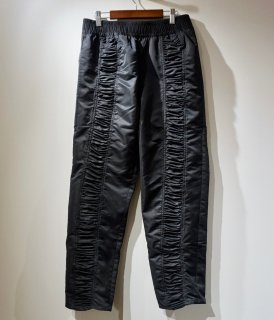 【SHOOP】Gathering Nylon Pants