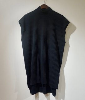 【[ー]Minus】MOCK NECK PLEATS N/S