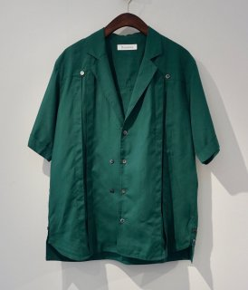 【Bernabeu】Open collar Shirts