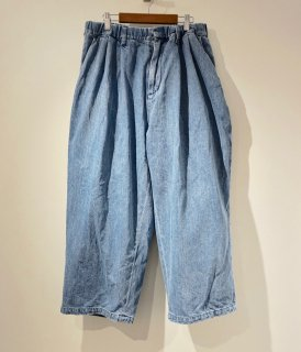 <img class='new_mark_img1' src='//img.shop-pro.jp/img/new/icons20.gif' style='border:none;display:inline;margin:0px;padding:0px;width:auto;' />【roundabout】Denim Big Balloon Pants