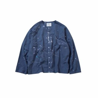 <img class='new_mark_img1' src='//img.shop-pro.jp/img/new/icons14.gif' style='border:none;display:inline;margin:0px;padding:0px;width:auto;' />ROUND COLLAR SHIRTS BLOSON-PAINT-