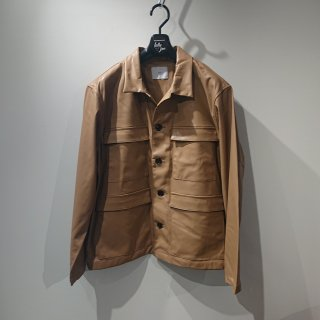 <img class='new_mark_img1' src='//img.shop-pro.jp/img/new/icons14.gif' style='border:none;display:inline;margin:0px;padding:0px;width:auto;' />【 ATHA 】FAKE LEATHER FIELD JACKET