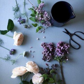 花と新聞の定期便