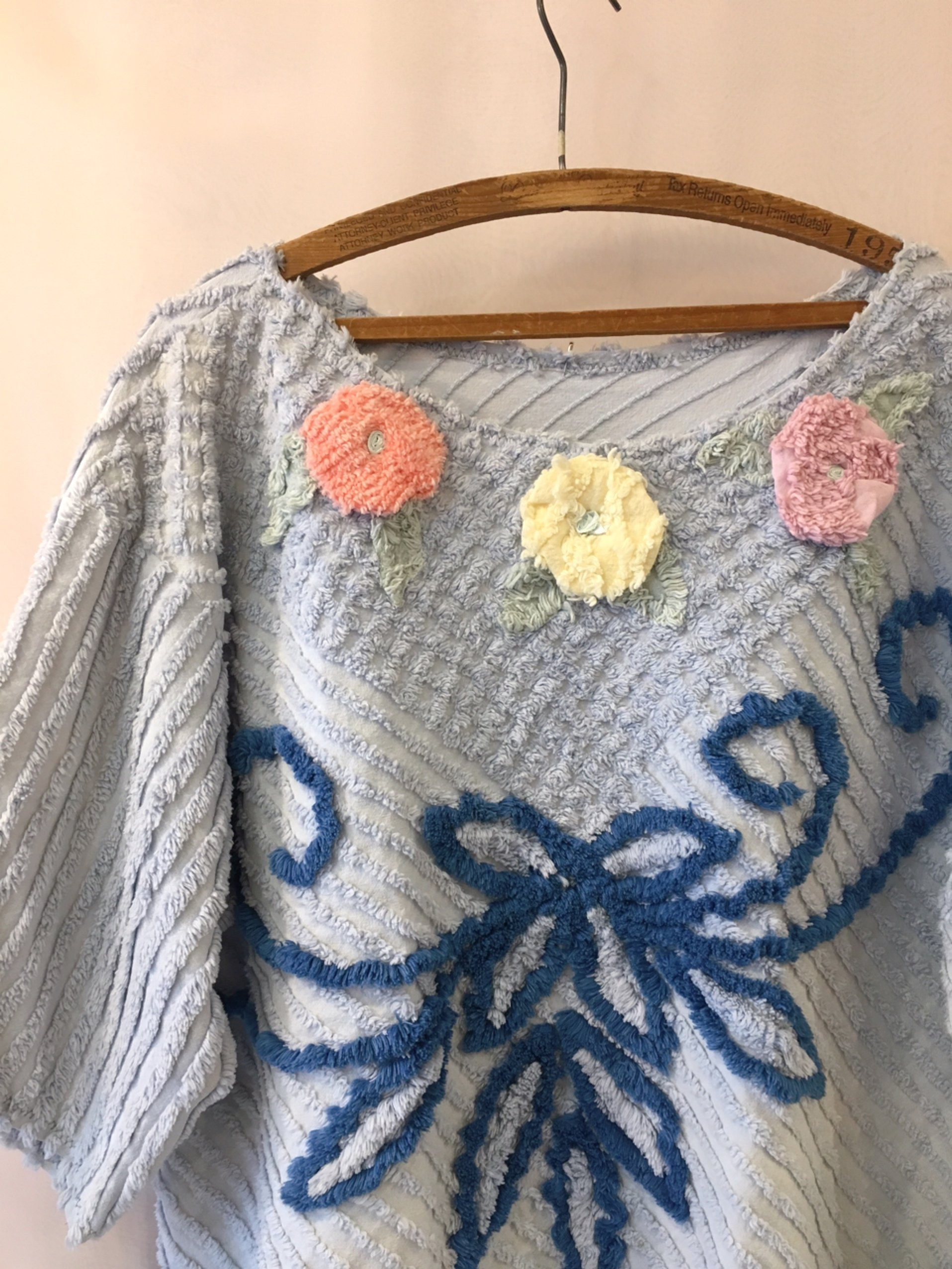 vintage chenille tops
