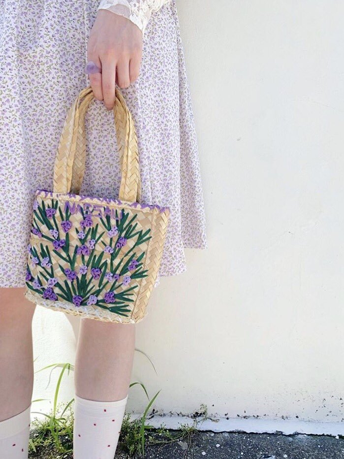 lavender flower bag