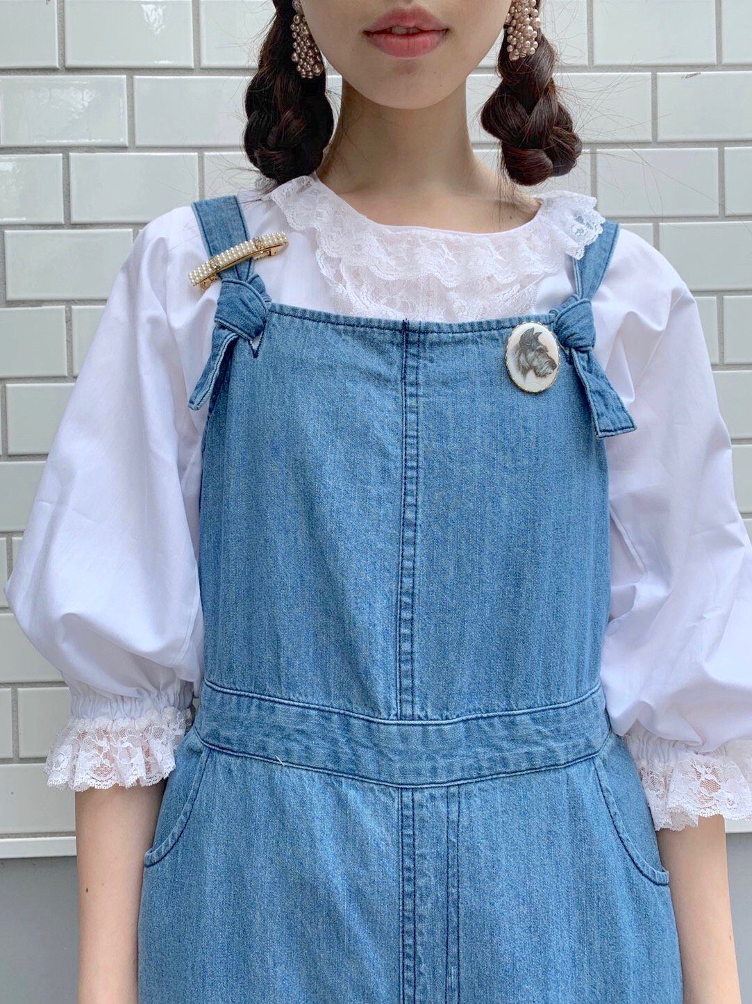 【SALE】denim rompers