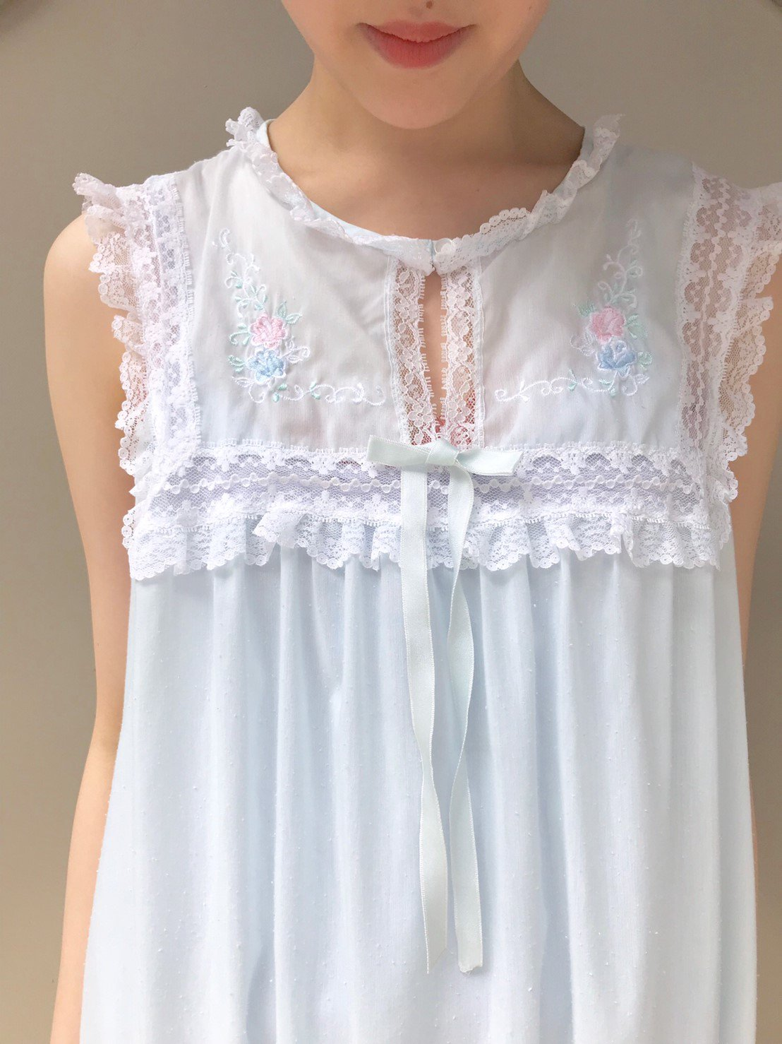 ice  blue onepiece